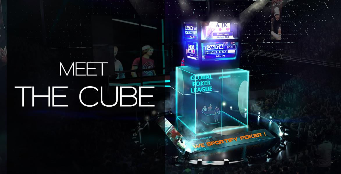 Global Poker League The Cube