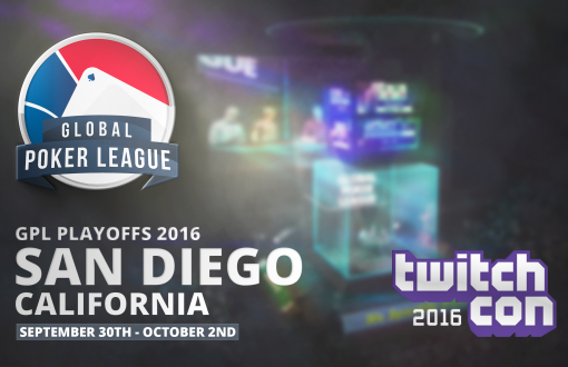 GPL Playoffs to be held at TwitchCon San Diego